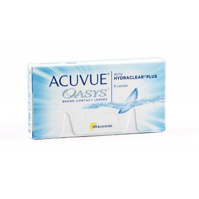 ACUVUE OASYS WITH HIDRACLEAR PLUS