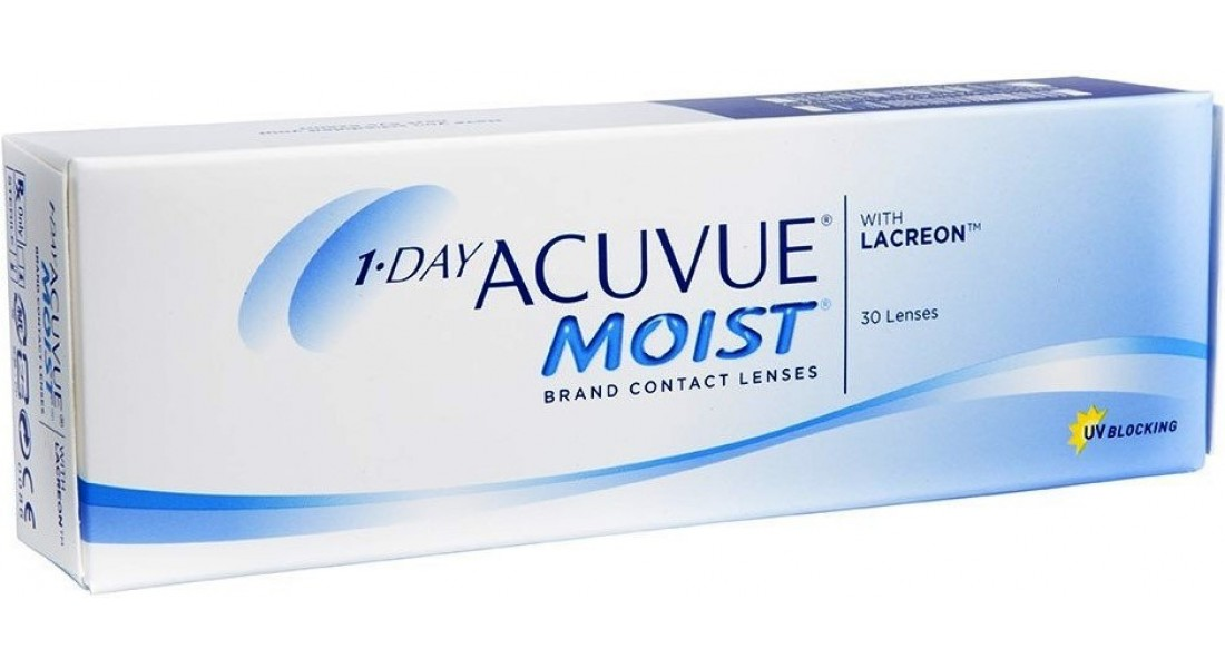 1-DAY ACUVUE MOIST-30 PACK